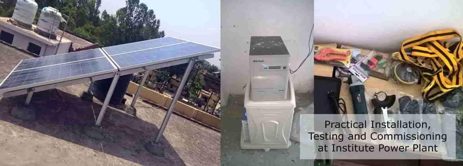 Ist Surat Gujarat Solar Pv Training At Ist Surat
